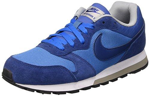 Nike Md Runner 2, Scarpe da Corsa Uomo, Azul (Azul (Star Blue/Coastal Blue-Wolf Grey-White)), 40 EU