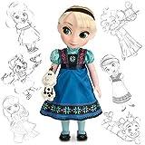 Disney Store - Animators Collection - Die Eiskönigin - völlig unverfroren - Elsa Puppe (2014)