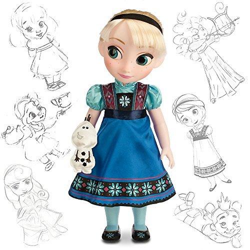 Disney Store - Muñeca Elsa de Frozen edición Animators (2014)