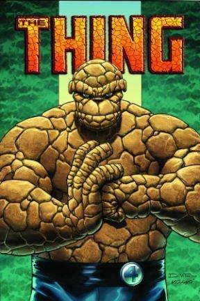 Portada del libro The Thing: Idol Of Millions TPB (Graphic Novel Pb) by Andrea Divito (Artist), Dan Slott (6-Sep-2006) Paperback
