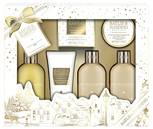 Baylis & Harding Bathing Gift Set, Sweet Mandarin and Grapefruit