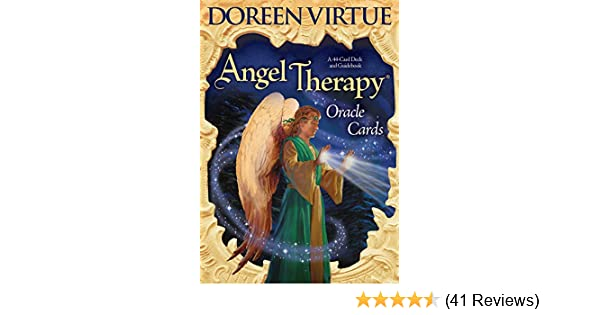 Buy Angel Therapy Oracle Cards Book Online at Low Prices in India
