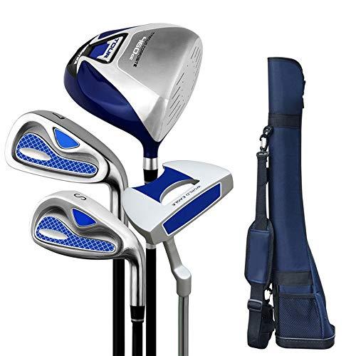 Ljleey-SP Golfschläger-Set für Kinder, 3-12 Jahre, Golf-Putter komplettes Übungsset für Herren, Legierung, einfarbig, S2