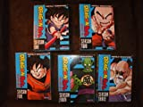 Dragon Ball Season 1-5, Dragon Ball Z Season 1-9, Dragon Ball Z Brolly Triple Threat, Dragon Ball Z Trunks/bardock, Dragon Ball Z Super Android 13