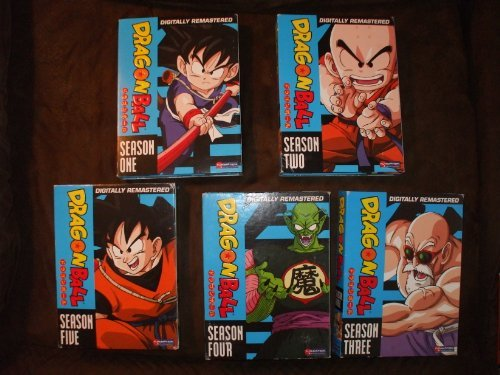 -5, Dragon Ball Z Season 1-9, Dragon Ball Z Brolly Triple Threat, Dragon Ball Z Trunks/bardock, Dragon Ball Z Super Android 13 ()