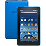"""Tablette Fire, écran 7"""" (17,7 cm), Wi-Fi, 8 Go (Bleu) - avec offres spéciales"""