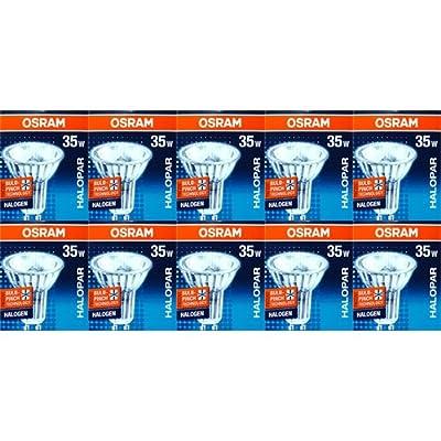 10 Stck Osram 64820 Fl Halopar16 Alu Halogen-reflektor 230v Gu10 35w von Osram
