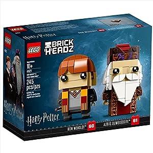 Lego Brickheadz 41621 Set De Construcción Ron Weasley Y Albus Dumbledore, Multicolor 14