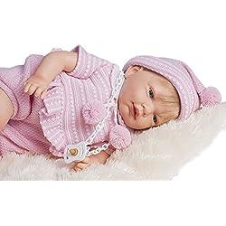 Poupée reborn poupee bebe reborn 45 cm bebe reborn fille poupon vrai bébé Ref 709 Nines Artesanals d'Onil