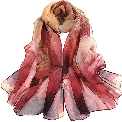 Aloiness foulard donna scialle cerimonia sciarpa stole donna sciarpa ideale per abiti da sera, matrimoni, feste, per damigella d'onore, sposa o vestiti da sposa o prom proms