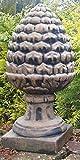 pompidu-living Zapfen, Pinienzapfen, Stein 51 cm Farbe Terrakotta