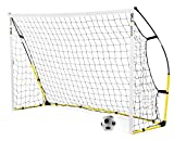 SKLZ Kickster Portable Soccer Goal Ultra-Portable Quick Set Up Soccer Goal! Get your practice going in under 2 minutes. The Kickster is easy to set up and ultra-portable, yet durable and stable for youth and elite players alike. Easy Velcro net attac...