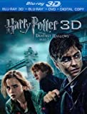 Harry Potter And The Deathly Hallows Part 1 (Blu-ray 3D + Blu-ray) [2011] [Region Free]