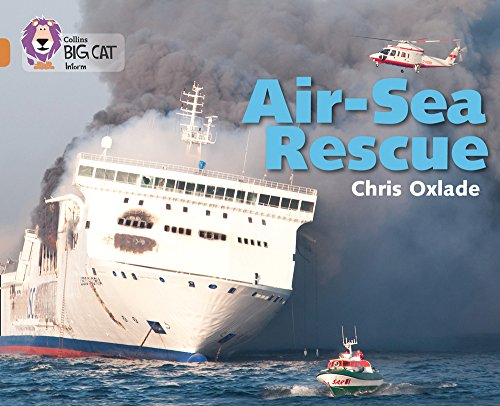 Air-Sea Rescue: Band 12/Copper (Collins Big Cat) por Chris Oxlade