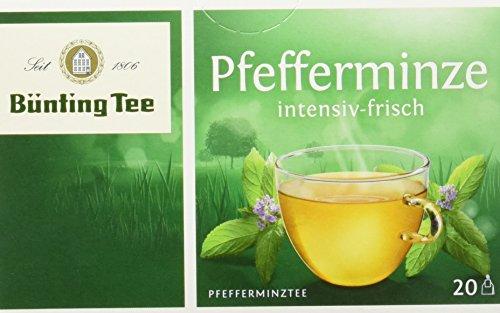 Bünting Tee Pfefferminze classic 20 x 2 g Beutel, 12er Pack (12 x 40 g)