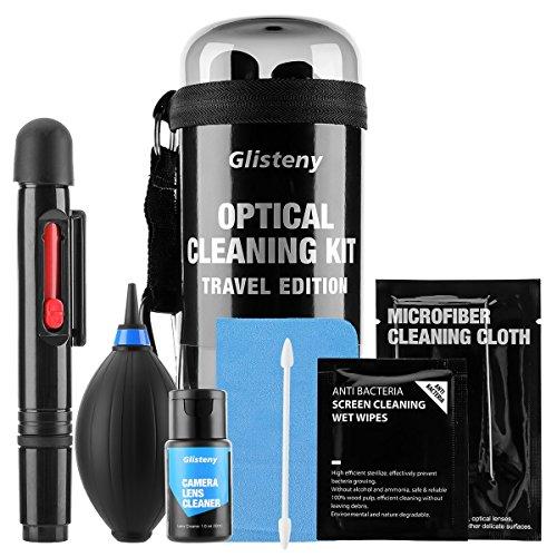 Kamera Reinigungsset, GLISTENY Professional Reinigungsset für Kamera und Objektiv 21 in 1 Travel...