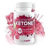Raspberry Ketone Pure - Natürliche Himbeerketone zum Abnehmen | Wirksames Nahrungsergänzungsmittel | Fettverbrenner - Fatburner - Stoffwechselbeschleuniger | Diätpillen | Stoffwechsel anregen
