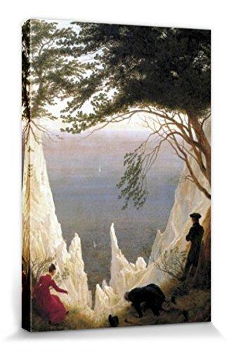 1art1 57221 Caspar David Friedrich - Die Kreidefelsen Auf Rügen, 1818 Poster Leinwandbild Auf...