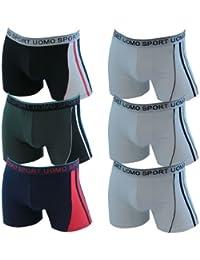 Lavazio PEU1002 Pesail Lot de 4 boxers pour homme