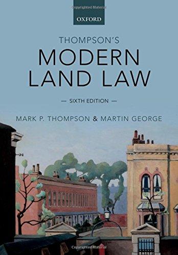 Thompson's Modern Land Law