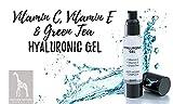 Hyaluronsäure Konzentrat - OHNE Parabene, Silikone, Parfums, PEGs, Hormone- HOCHDOSIERT 50ml - Hyaluron Serum Gel mit Vitamin C und E - 2