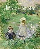 Impressionisten 2020: Kunstkalender mit Werken aus dem Impressionismus. Großer Wandkalender mit Meisterwerken der Epoche. Format: 45,5 x 55 cm, Foliendeckblatt