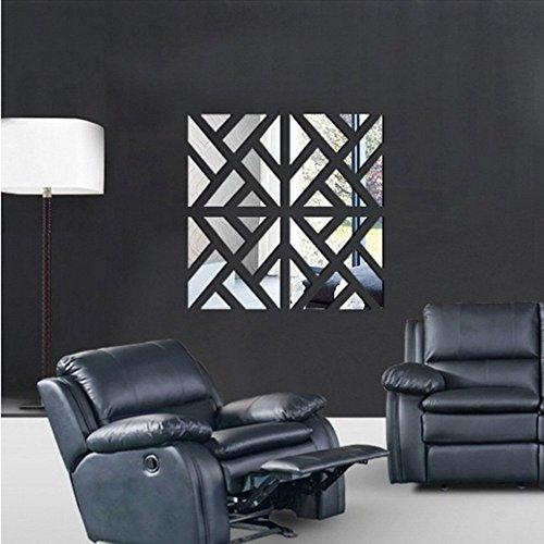 ufengker-4-piezas-3d-cuadrado-efecto-de-espejo-pegatinas-de-pared-diseno-de-moda-etiquetas-del-arte-
