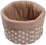 Best Price Cotton Bread Basket, Grey