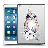 Head Case Designs Offizielle Kristina Kvilis Eule 1 Tiere 2 Ruckseite Hülle für iPad Air (2013)
