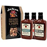 Jim Beam Whisky Flavour Chips & Saucen Set