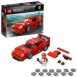 LEGO Speed Champion Auto da corsa Ferrari F40 Competizione con Minifigure del Pilota, Set di Costruzioni, Idea Regalo per Tutti gli Appassionati di Motori e per Bambini +7 Anni, 75890  LEGO