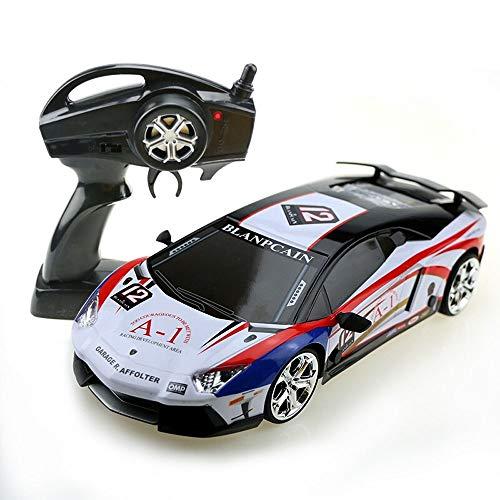 Kikioo Maßstab 1:16 Echargeable Monster R/C-Lkw in Originalgröße 2,4 GHz Elektro-Hochgeschwindigkeits-Buggy 4x4 RTR-Fernbedienung Drift Racing Rennfahrzeuge Geländegängige Buggys Bestes Geschenk für - Toy 4k Story