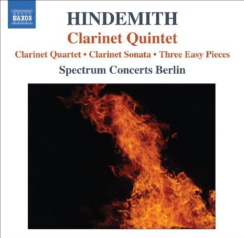 Hindemith, P.: Quartet for Clarinet and Piano Trio / Clarinet Sonata / 3 Leichte Stucke / Clarinet Quintet (Leichte 3 Trios)