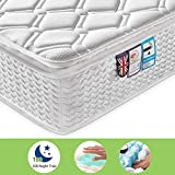 Ej. Life Pocket Sprung Mattress and Memory Foam Mattress Pressure Relief with 9-Zone