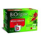 Biorigine tisane brule graisse 20 sachets soit 32g - Livraison Gratuite pour les commandes en France - Prix Par Unité