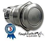 .drivezero. ToughSwitch – Taster aus Edelstahl, staub- und wasserdicht (IP67)