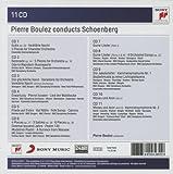 Pierre Boulez conducts Schoenberg (Coffret 11 CD)