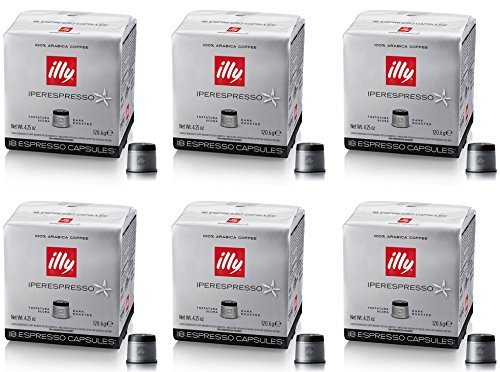 Price comparison product image 18 Pods Capsule Caffe 'Illy Iperespresso Roasting Dark Originals