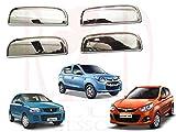 #7: RedClub Galio/ Prius Car Door Handle/ Catch Covers (Chrome)[Made in India] for Maruti Suzuki Alto Old/ Alto 800/ Alto K10 with Complementary RedClub Pen