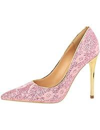 Women Sexy Es High Heels Stoff Sexy Women Mode Seichten Mund Spitze Stiletto Heels Braut Hochzeit Schuhe Pumps Black Heel... 2cfef0