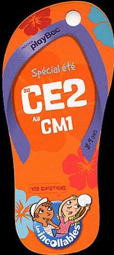 Incollables CE2 - Tong du CE2 au CM1