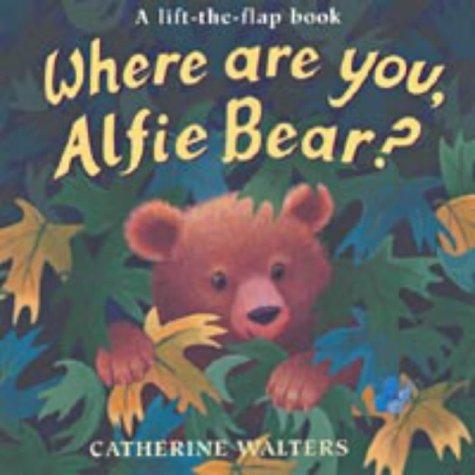Where are you, Alfie Bear?