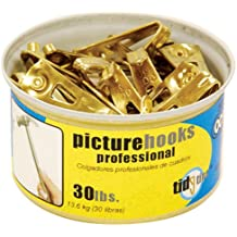 ook 50671Professional Picture Hangers Tidy Tin supporta fino a 13,6kilogram, 15set 15set