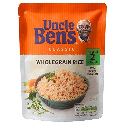Micro-Ondes Classique Grains Entiers 250G De Riz Uncle Ben