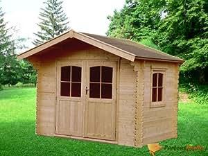Abri de jardin en bois Combloux 8,88m²
