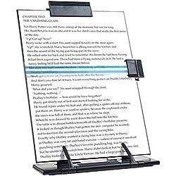 Porte-Documents de Bureau en métal Noir avec 7 Positions réglables