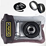 "Cam?ra DiCAPac Compact Mirrorless RF num?rique sous-marine Sport Outdoor Case Sac ?tanche WP-ONE (4.13 x 6.29 "") avec sangle"