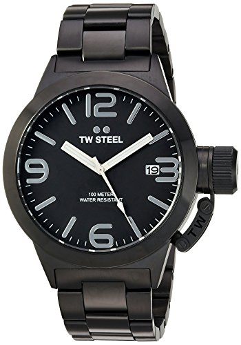 tw-steel-mens-quartz-watch-with-black-dial-analogue-display-and-black-stainless-steel-plated-bracele