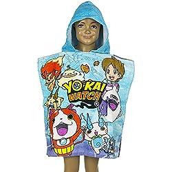 Yo-Kai Watch - Poncho Accappatoio Mare Piscina Con Cappuccio - Bambino - QE1758