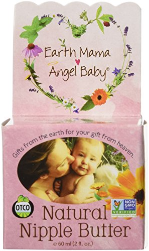 Earth-Mama-Angel-Baby-Natural-Nipple-Butter-2-ounce-Jar-Pack-of-2